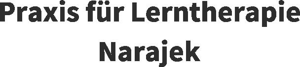 Praxis für Lerntherapie Narajek